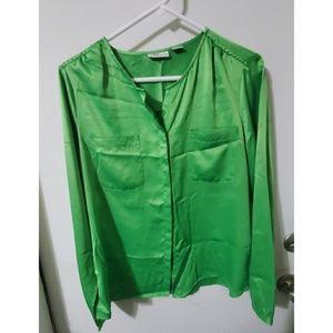 Liz Claiborne Button Down Shirt Womens Size M